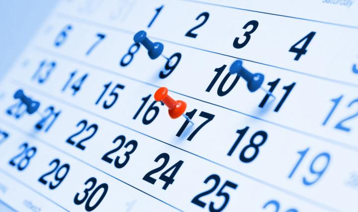 Kalendarium wysyłek