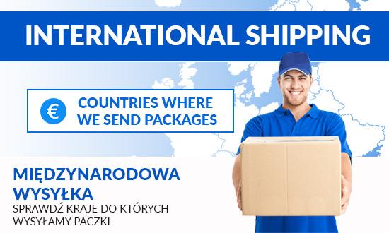 wysyłka międzynarodowa