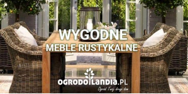 rustykalne meble