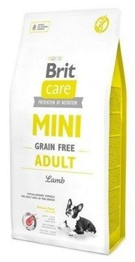 Brit Care Grain Free Mini Adult Lamb 2kg