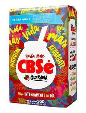 CBSe ENERGIA GUARANA yerba mate 500g