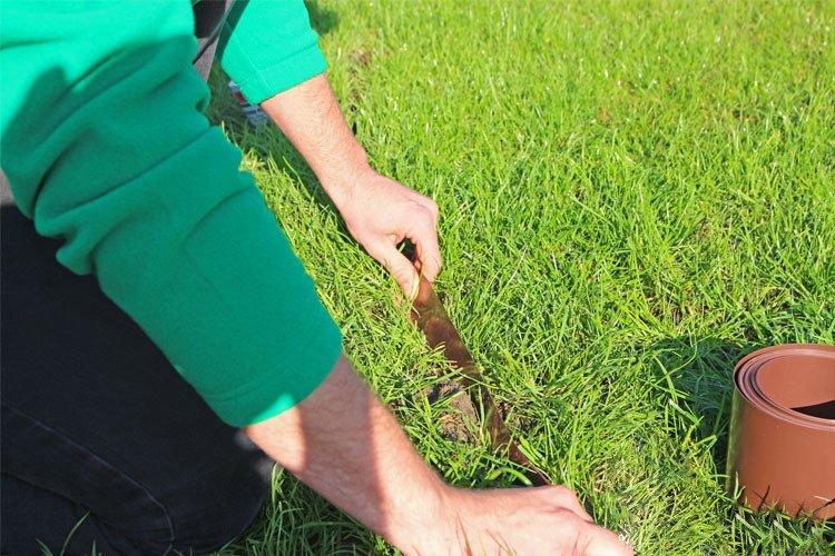 Obrzeze Trawnikowe Ogrodowe Zielone Proste 20cm X 50m Limiteo Sadowniczy Pl