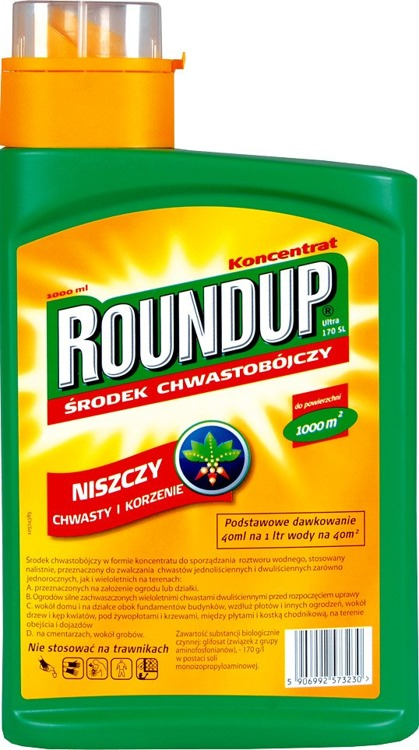 Roundup Ultra 170SL 1000 ml SUBSTRAL